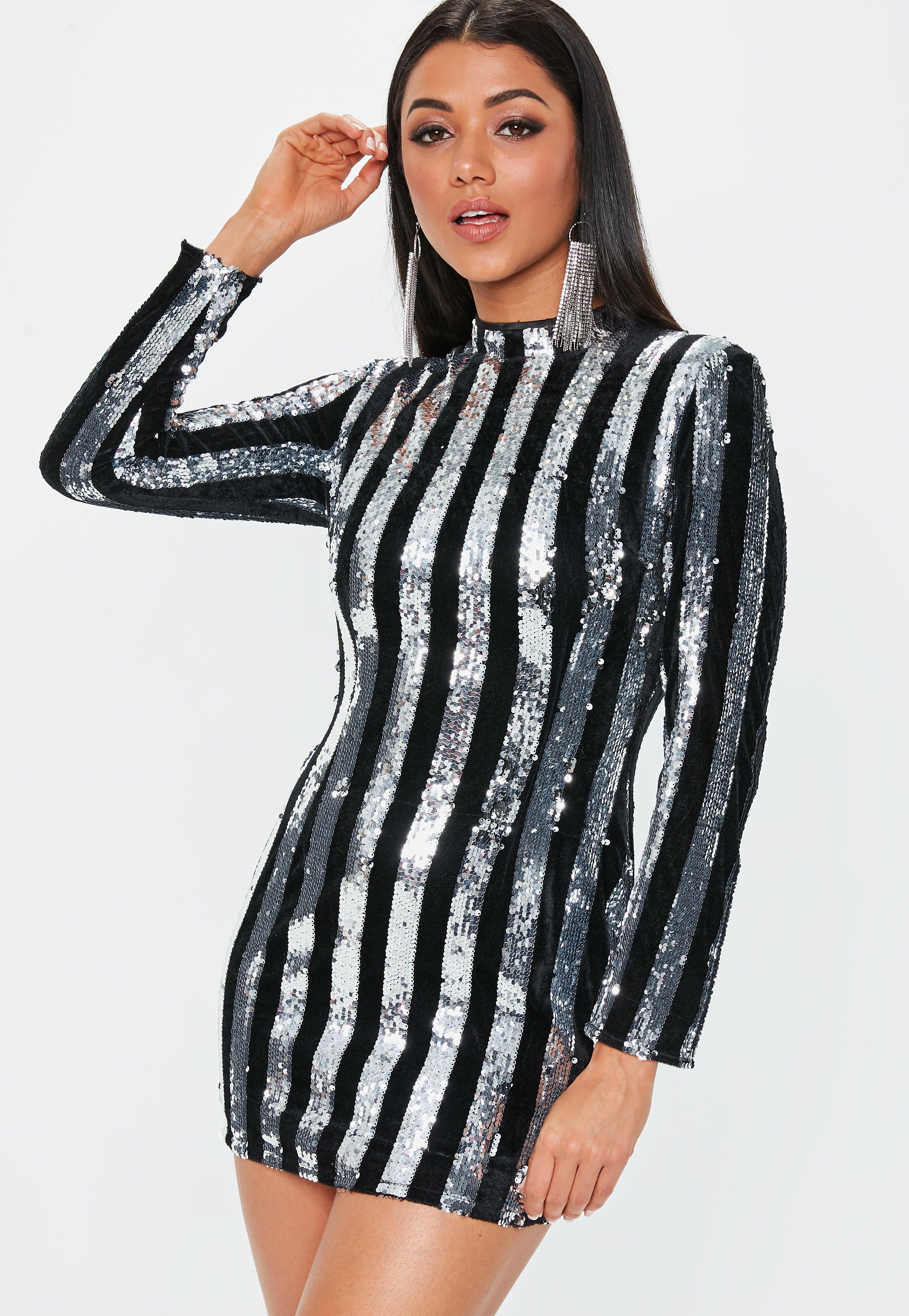 867b5baf6c1 Sequin Dresses - Sparkly Dresses Online