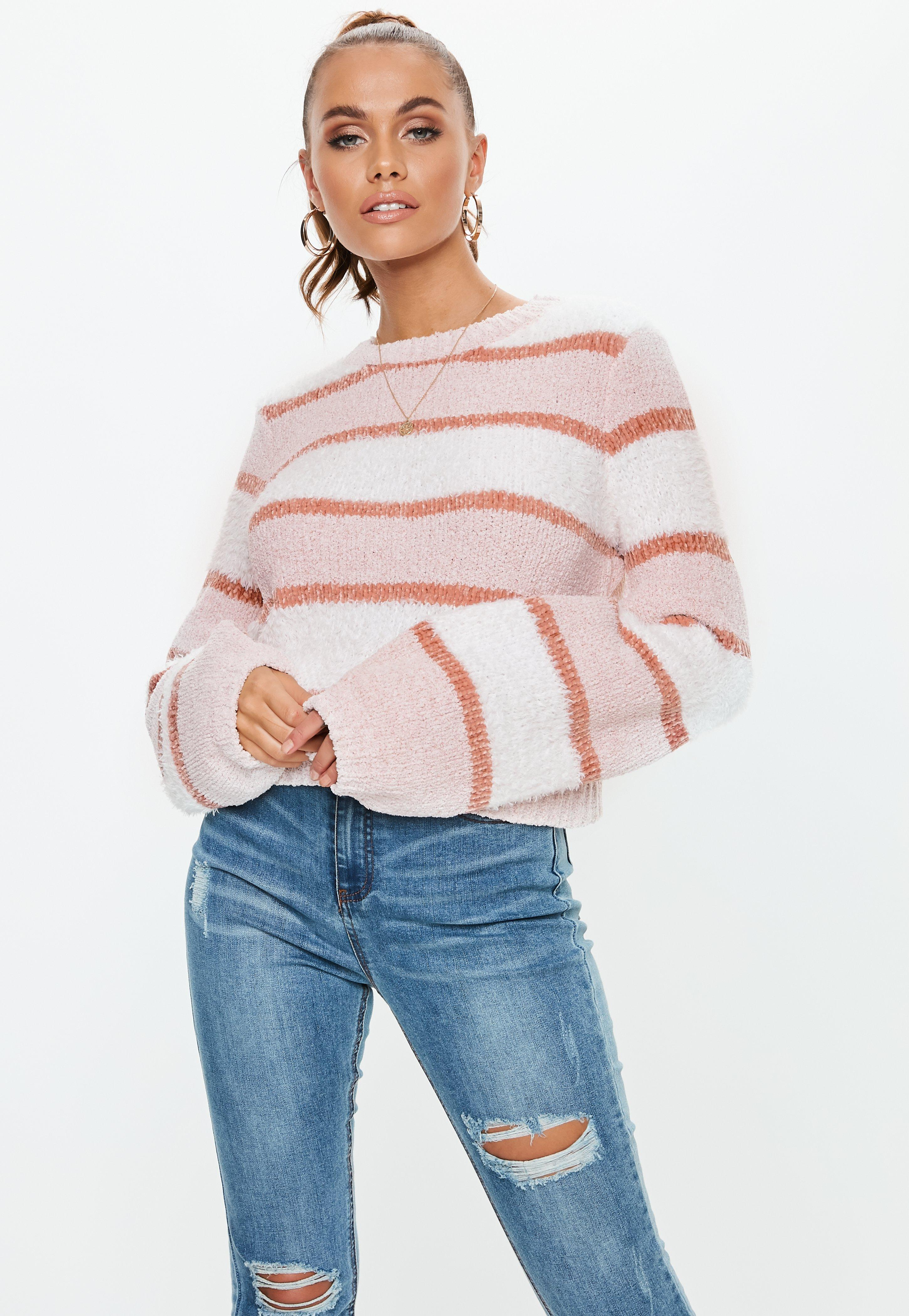 fa42206c3fa2ab Pink Jumpers | Women's Pink Jumpers Online - Missguided