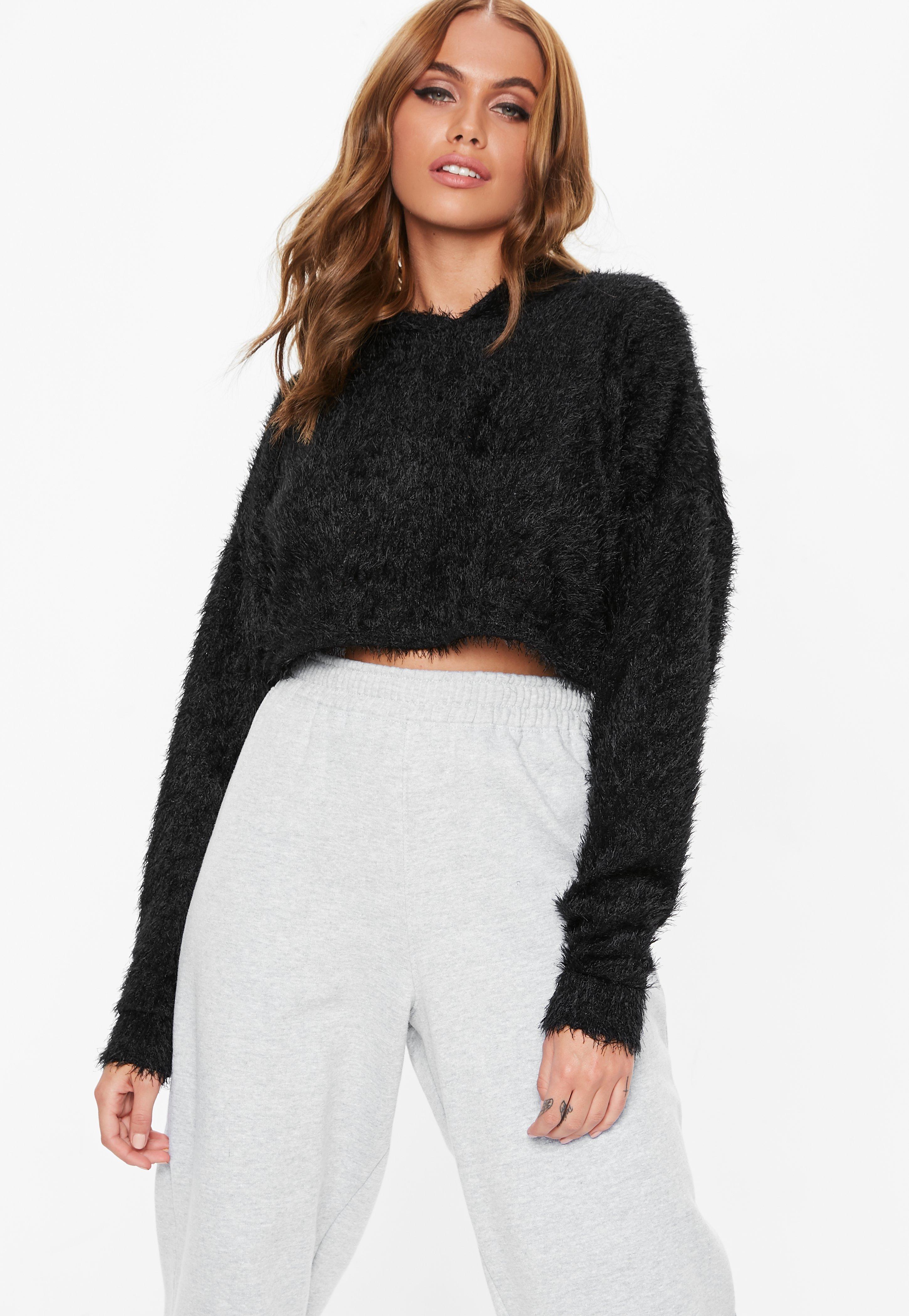 f82ffc36c3768 Cropped Sweaters