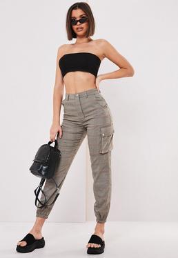 aaea5b0df6 High Waisted Trousers | High Waisted Pants - Missguided