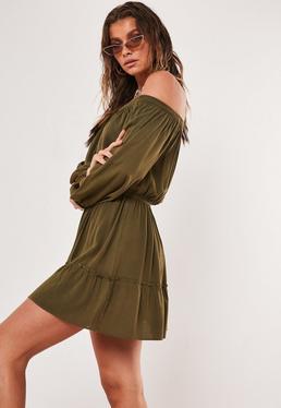 a7790433dc9b Khaki Dresses | Khaki Green Dresses - Missguided Australia