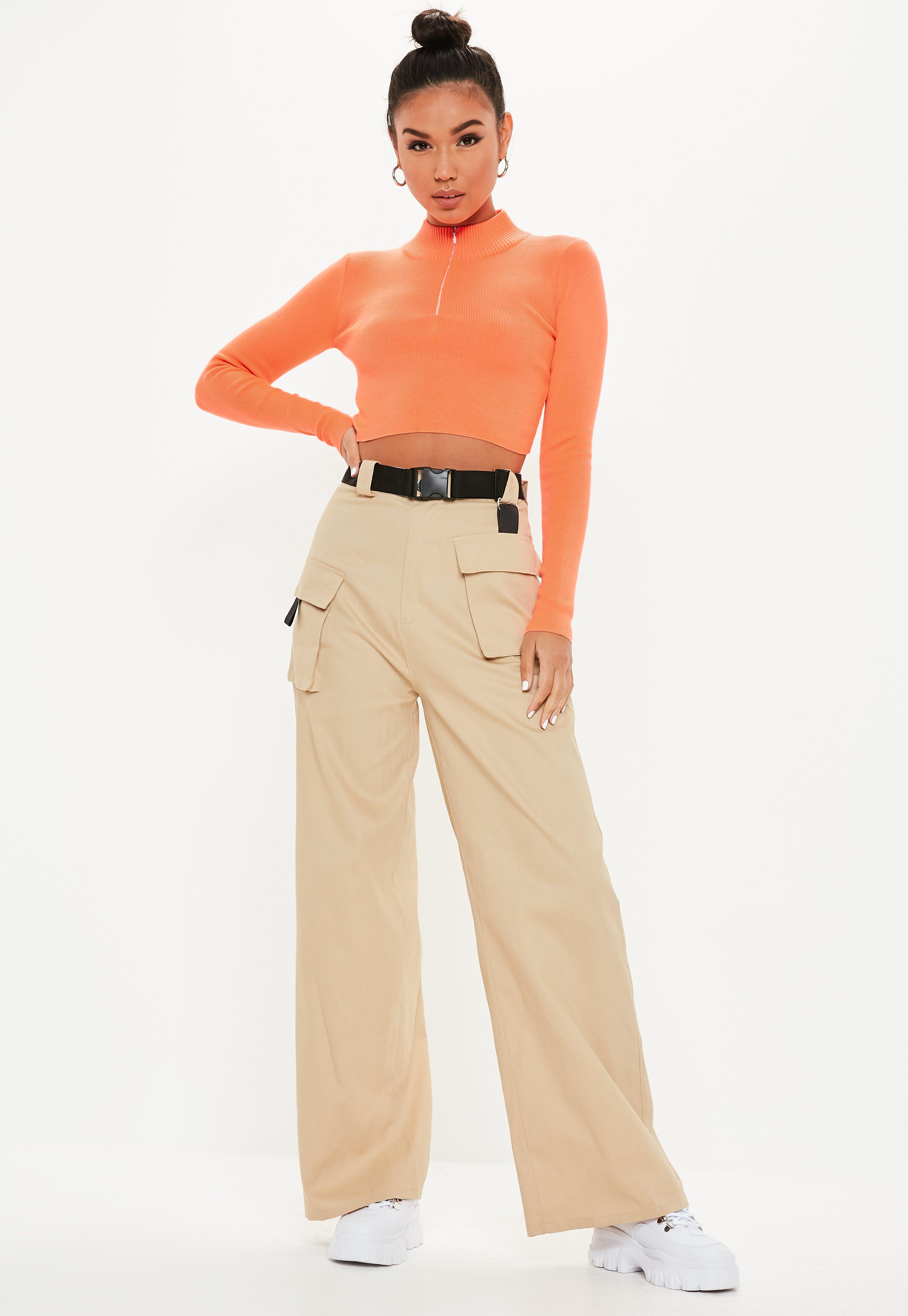 50fa8ce8 Nude Trousers | Women's Nude Trousers Online - Missguided