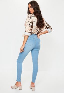 416188bd299 ... Petite Blue Vice High Rise Skinny Jeans