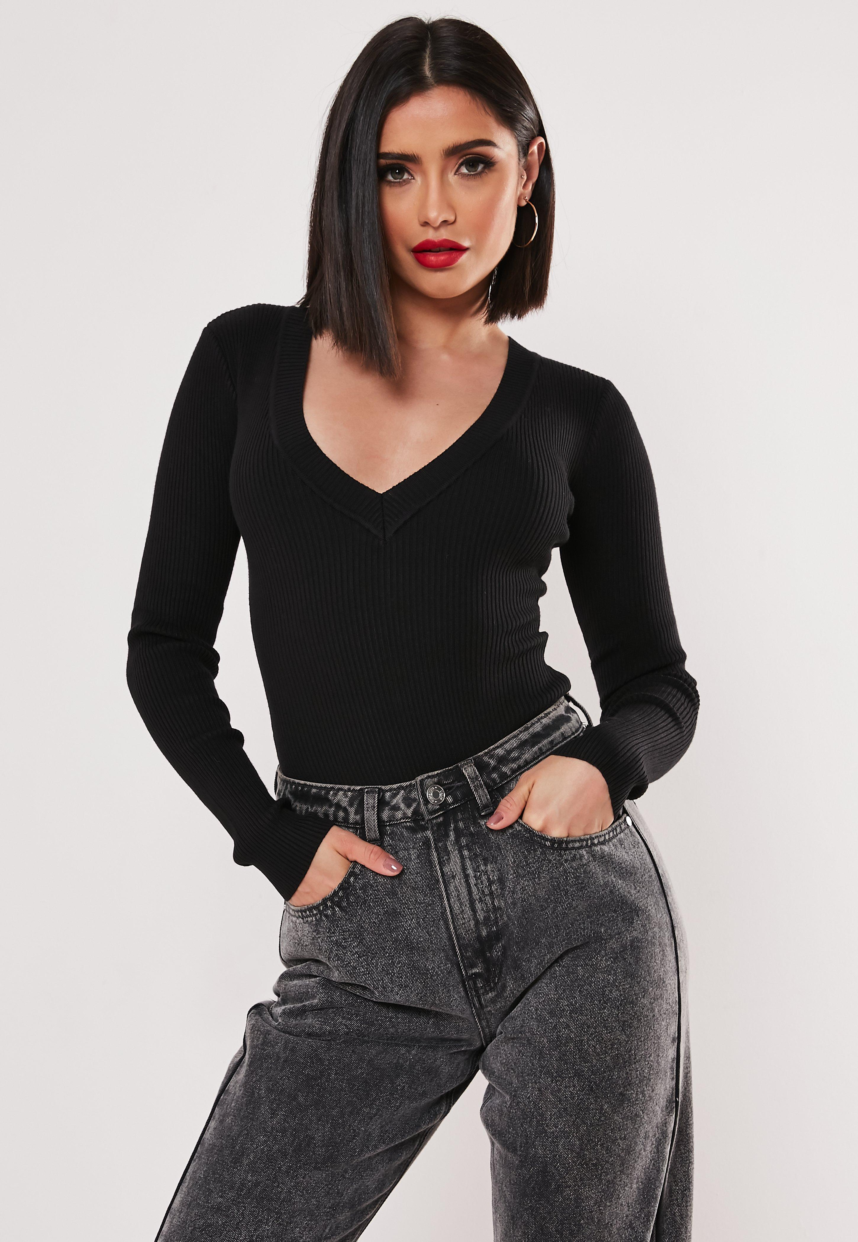 75bc2c7514 Knitted Bodysuits | Missguided