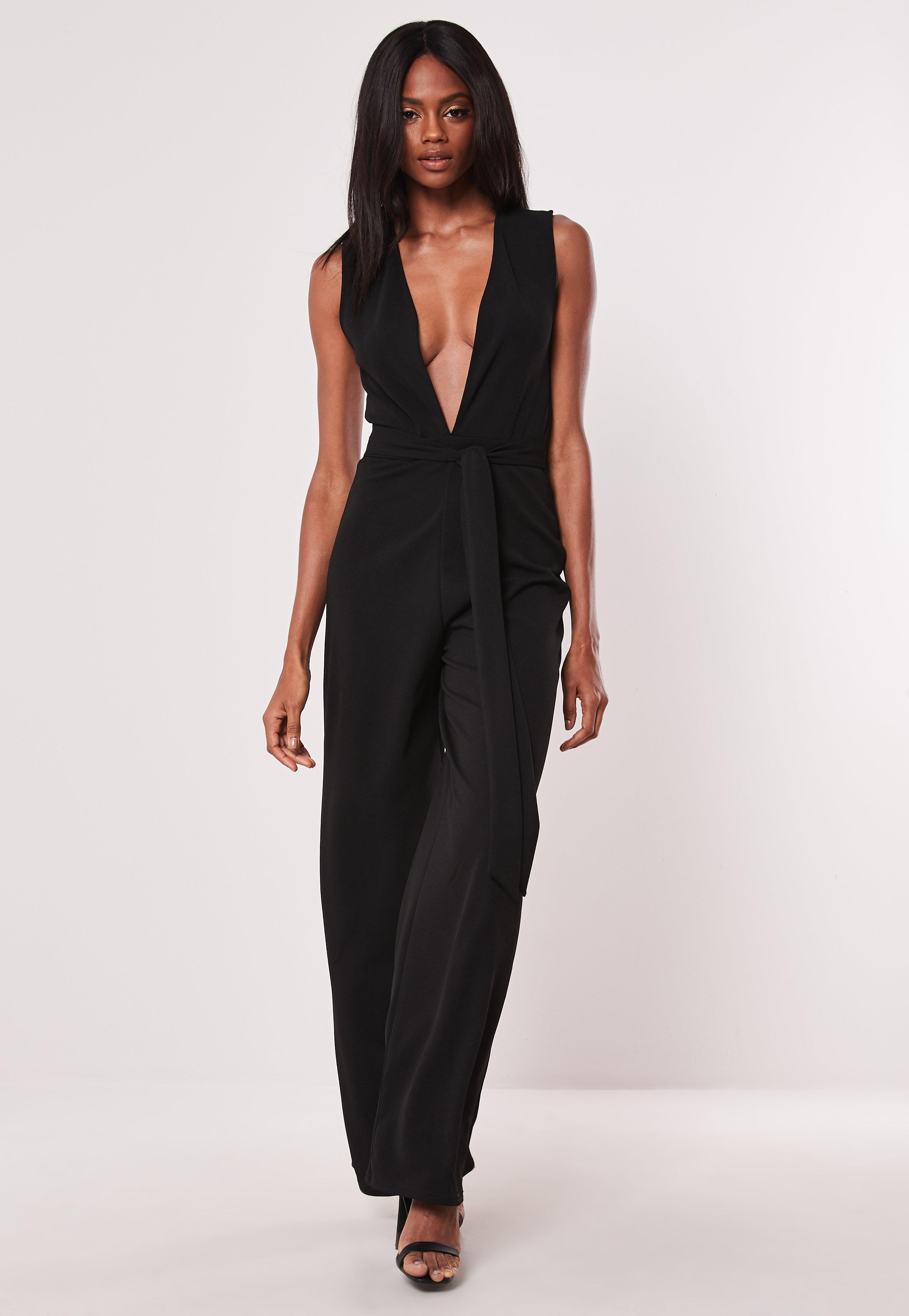bdba5678f312 Black Jumpsuits