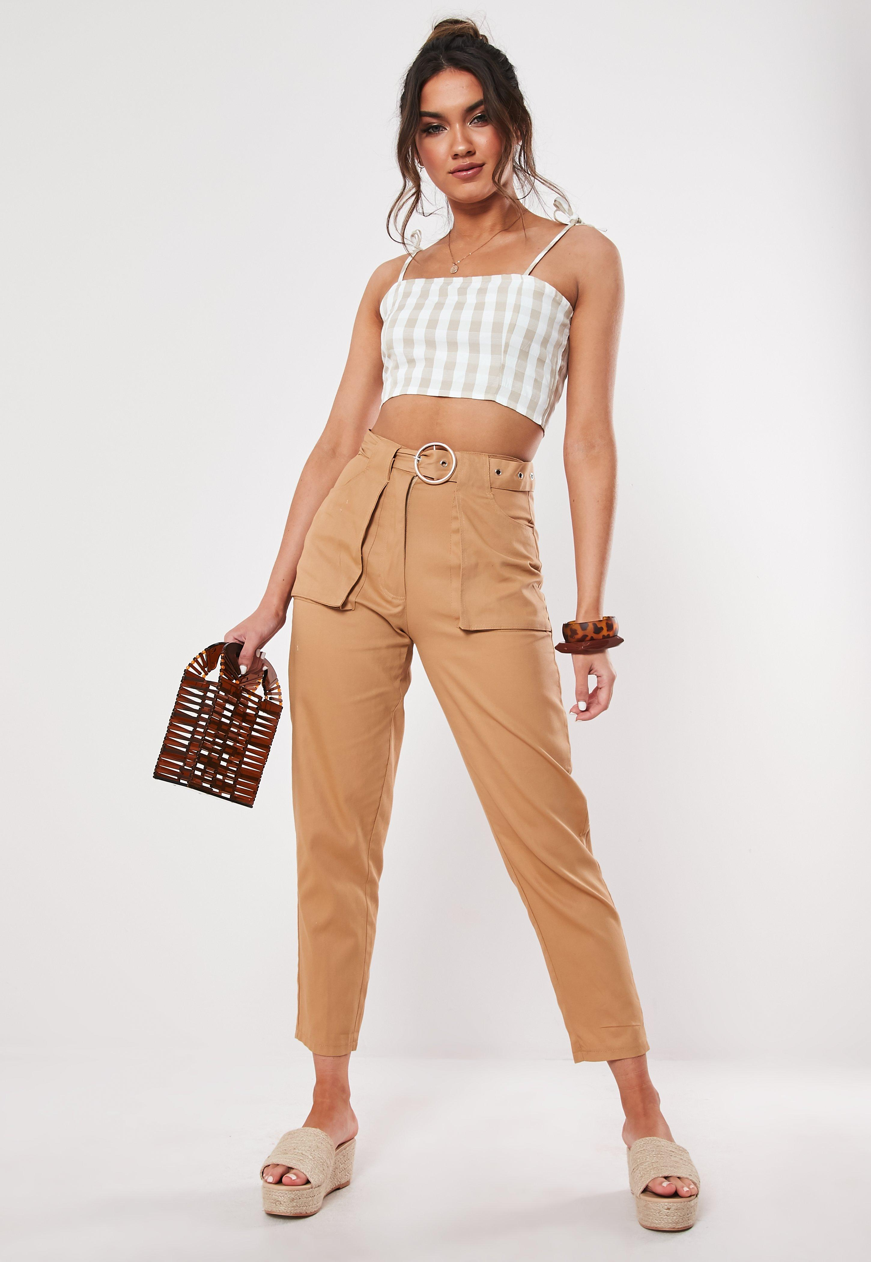 8f6676edcd57 Trousers for Women | Work Trousers & Pants | Missguided
