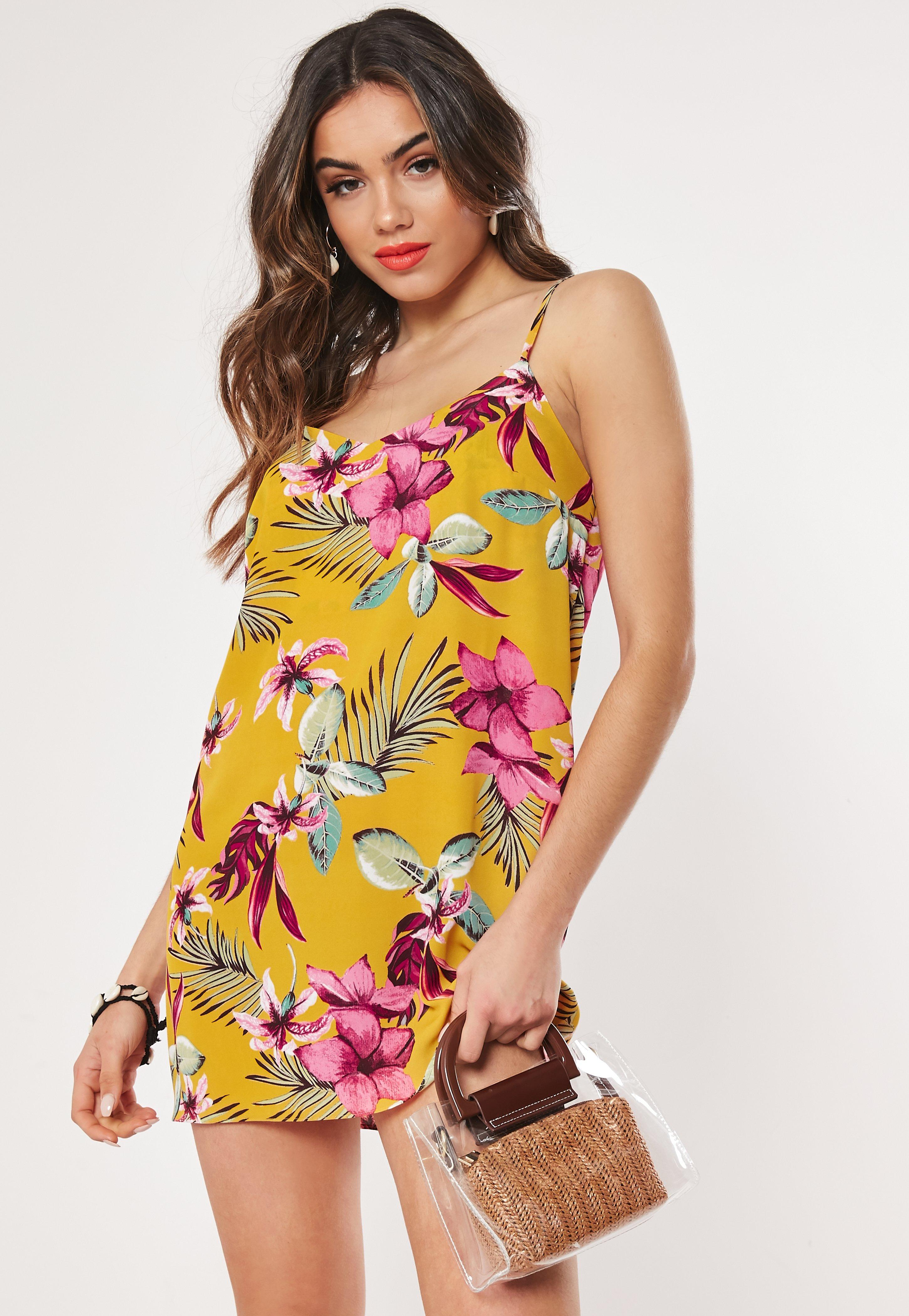 46026b909c39 Floral Dresses | Flower Print Dresses - Missguided