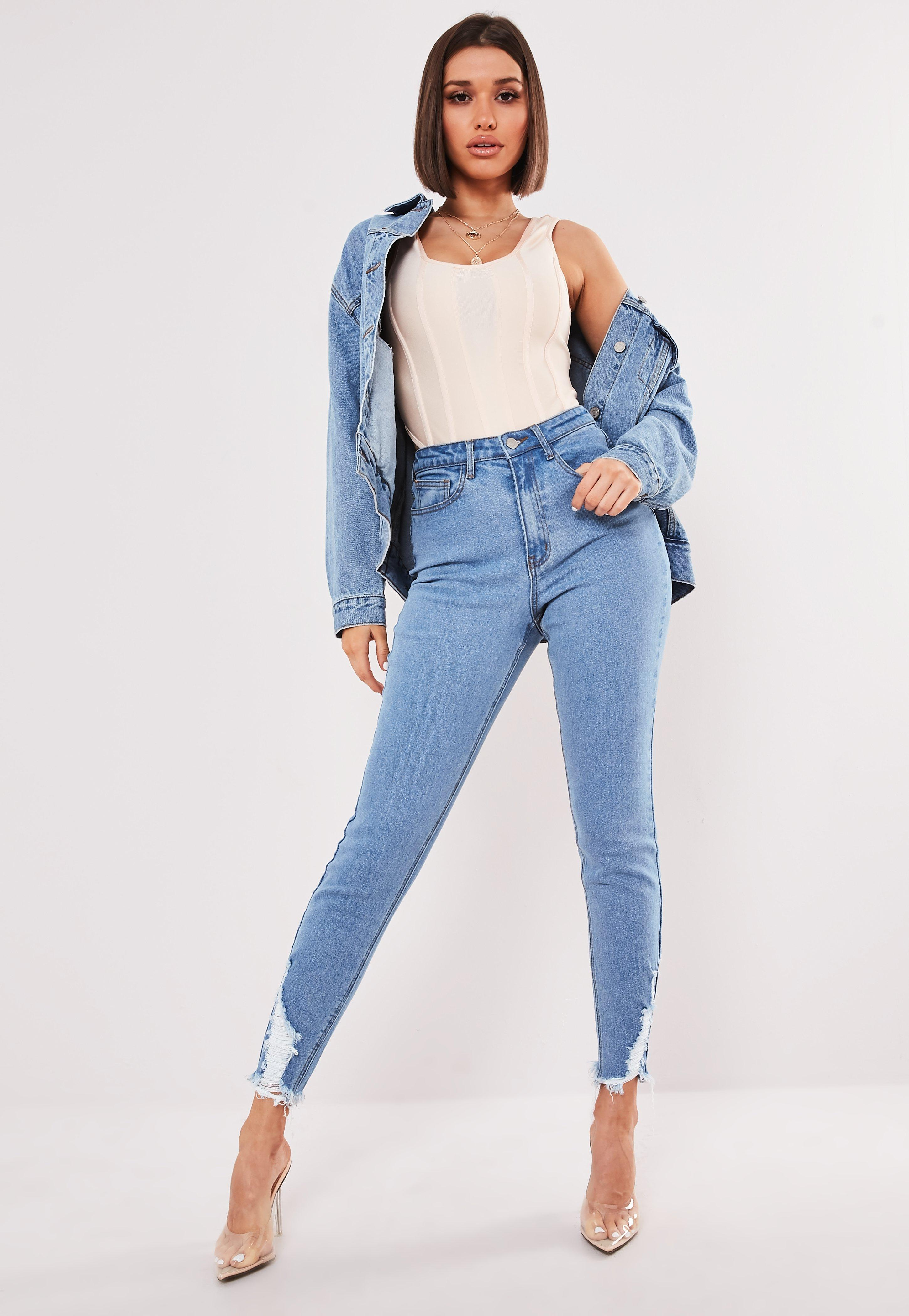 2e5d6443f9e9c8 Petite Jeans | Womens Petite Skinny Jeans - Missguided