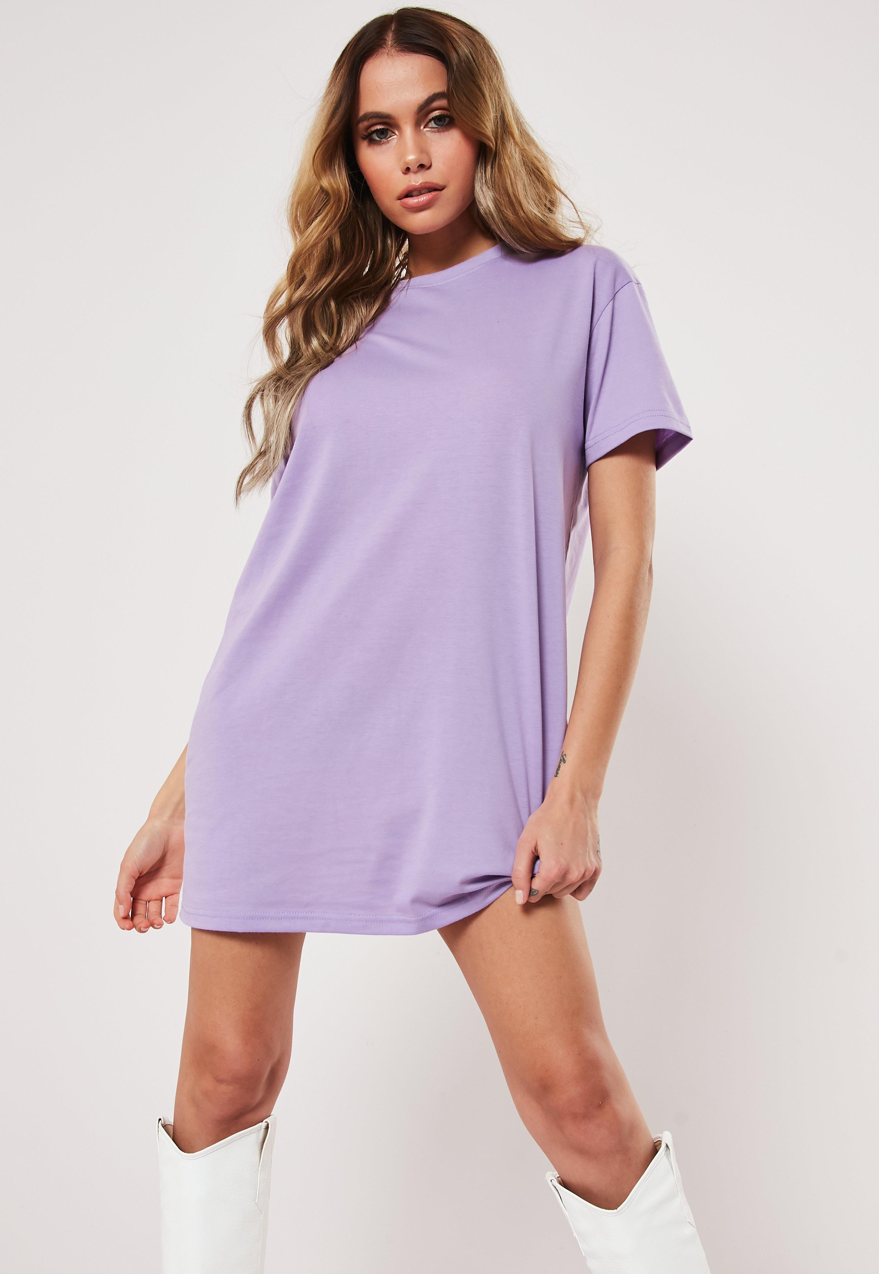 63e01fe0266b T-Shirt Dresses | Printed & Slogan Dresses - Missguided