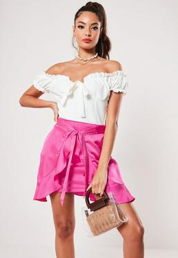 9653edf563ce Pink Skirts | Hot Pink & Light Pink Skirts - Missguided