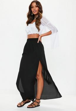 Черная мини-юбка Petite