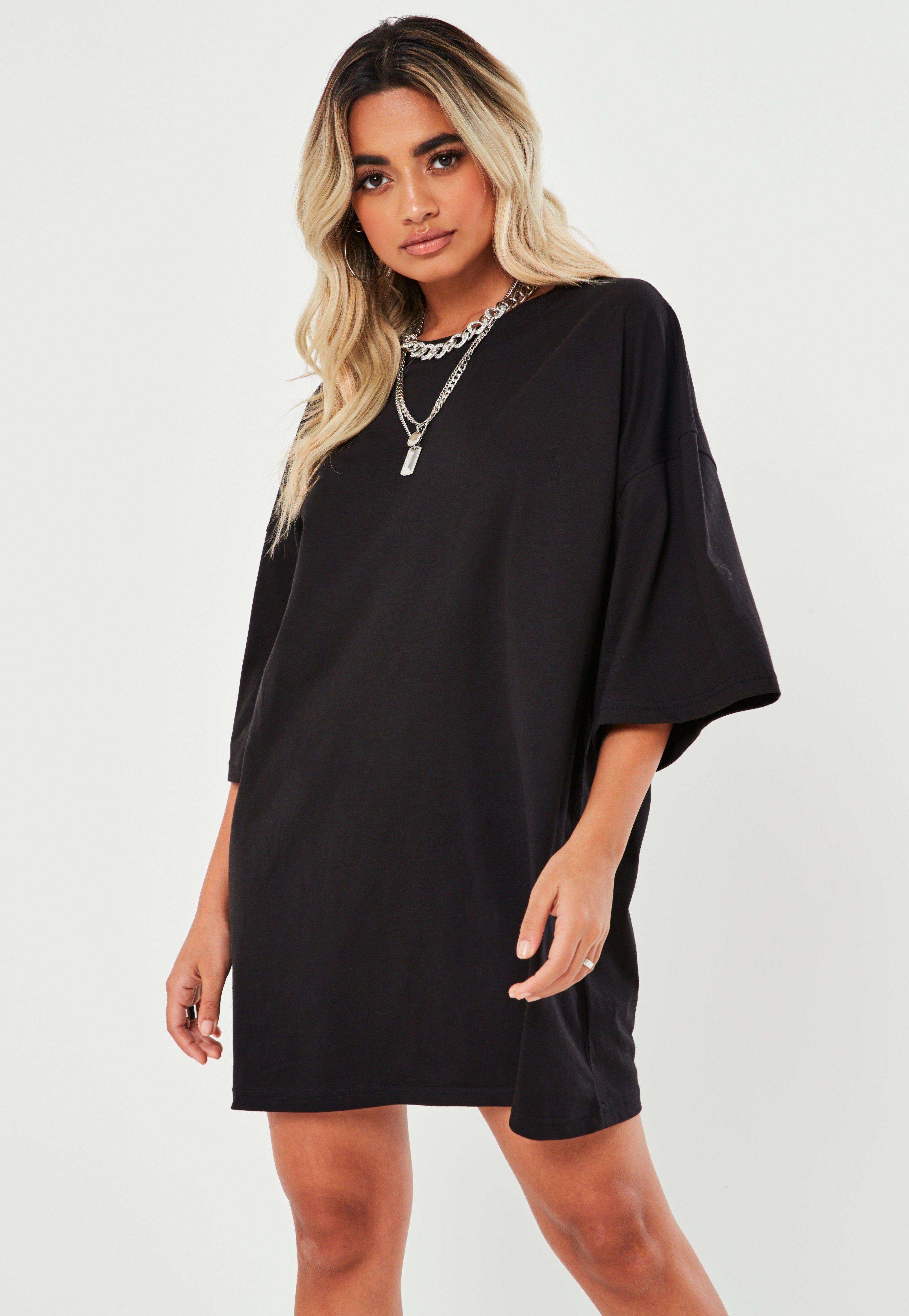 6c79a3602182 T Shirt Dresses | Printed & Slogan T-Shirt Dresses - Missguided