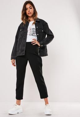 Черные классические формальные брюки Petite Black