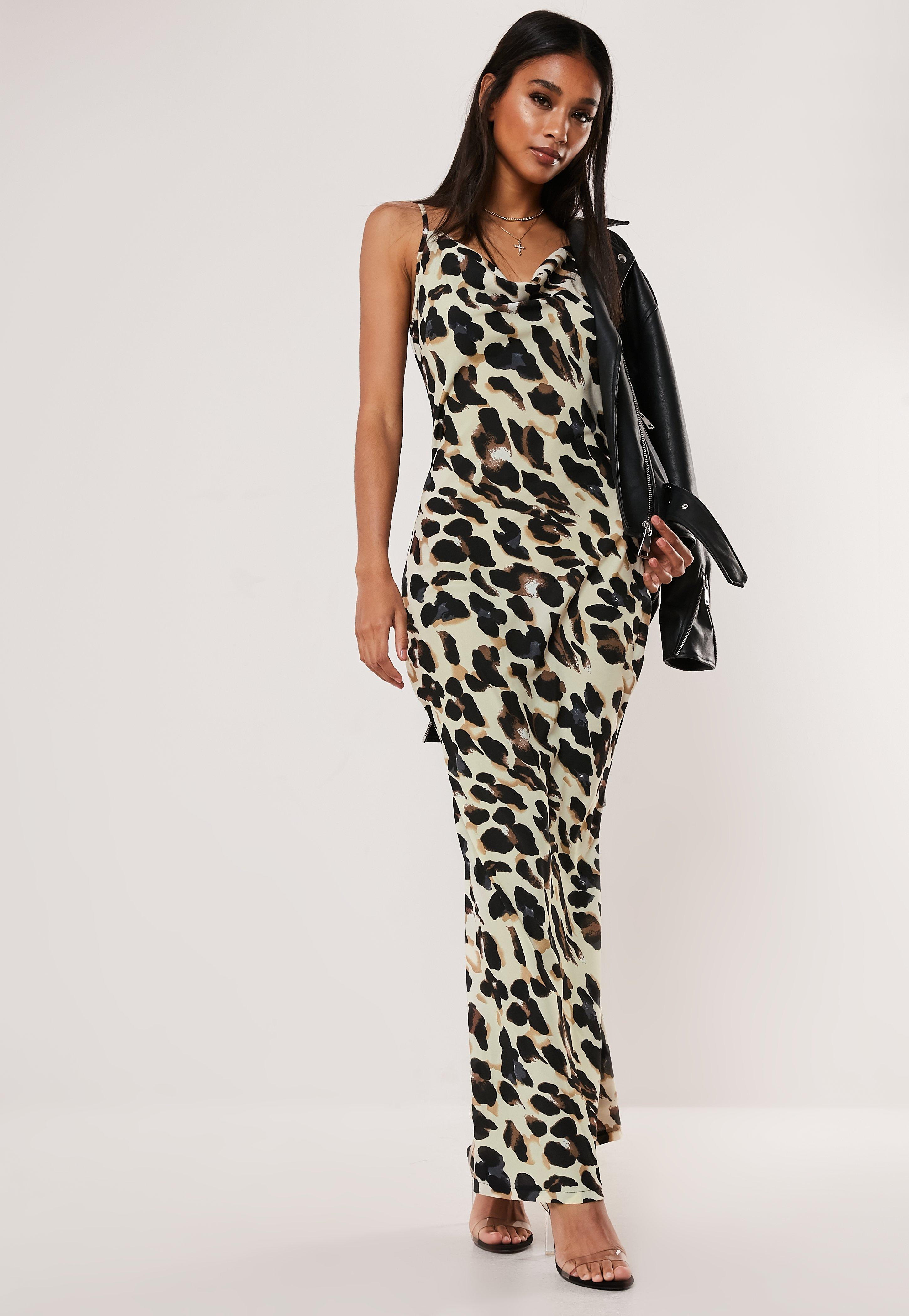 524a70c6abad Animal Print Clothing | Snake & Leopard Print Dresses - Missguided